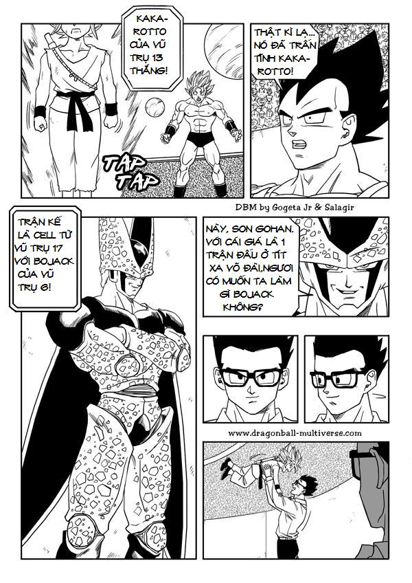 Dragonball New Age Chapter 28 - Trang 11