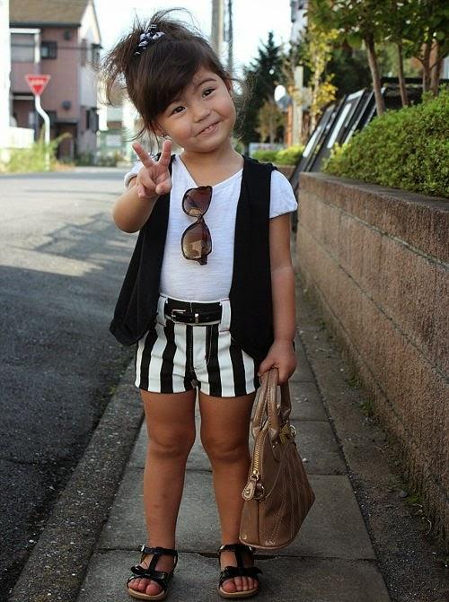 fashionable girls fashionable kids photo