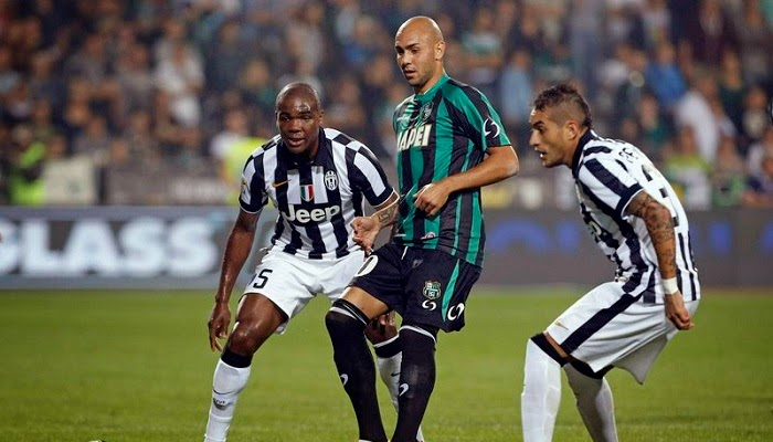 Juventus vs Sassuolo en vivo