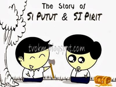 Si Putut dan Si Pirit (sabahan troll)