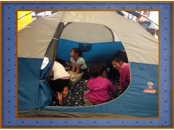 Tent Camping in Kindergarten JK Curriculum Connection