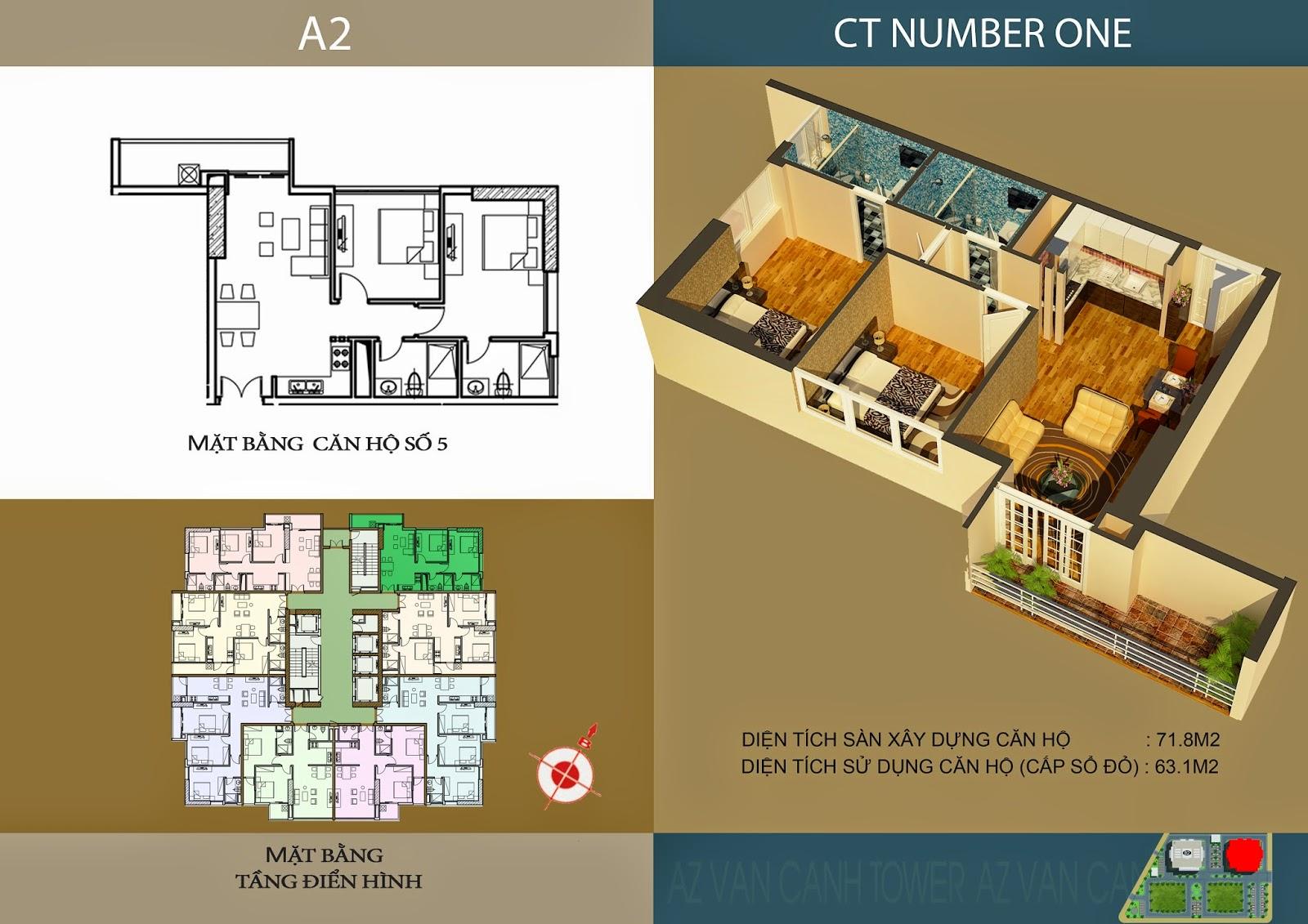 sơ đồ thiết kế chung cư ct number one