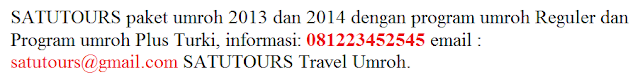 Info Paket Travel Umroh Pontianak