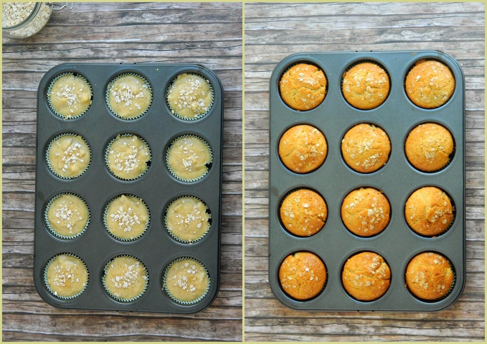 cupcakes pear caramel sauce