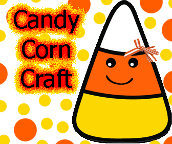 Candy Corn Folder Craft