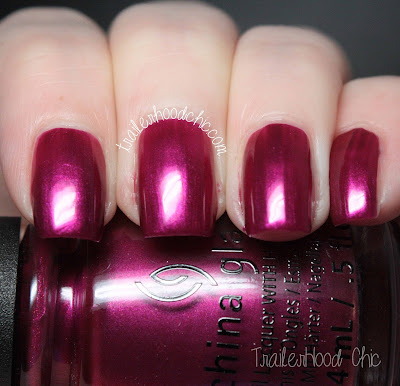 china glaze cheers holiday review swatches better not pout