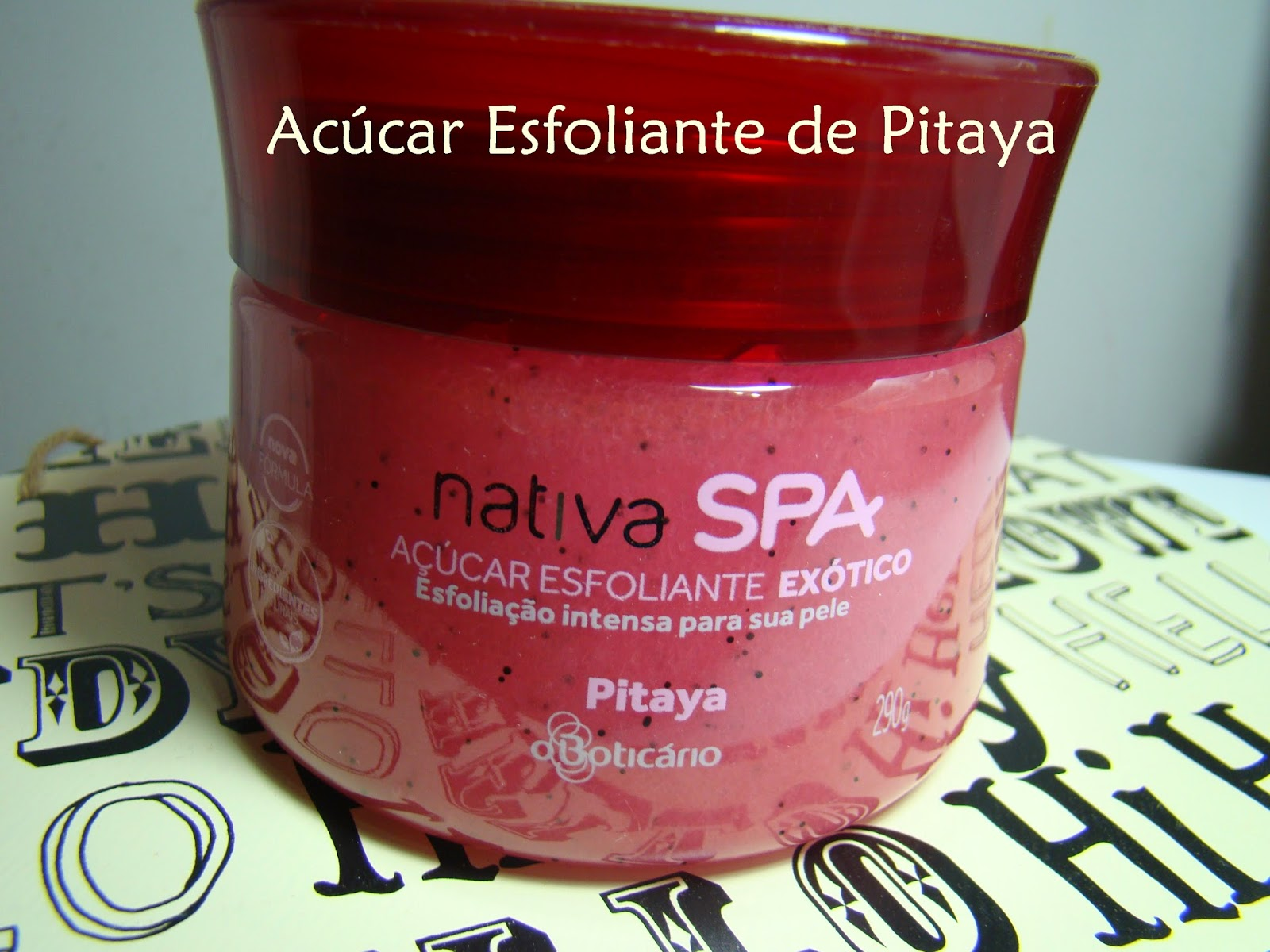 Acúcar Esfoliante Exótico de Pitaya