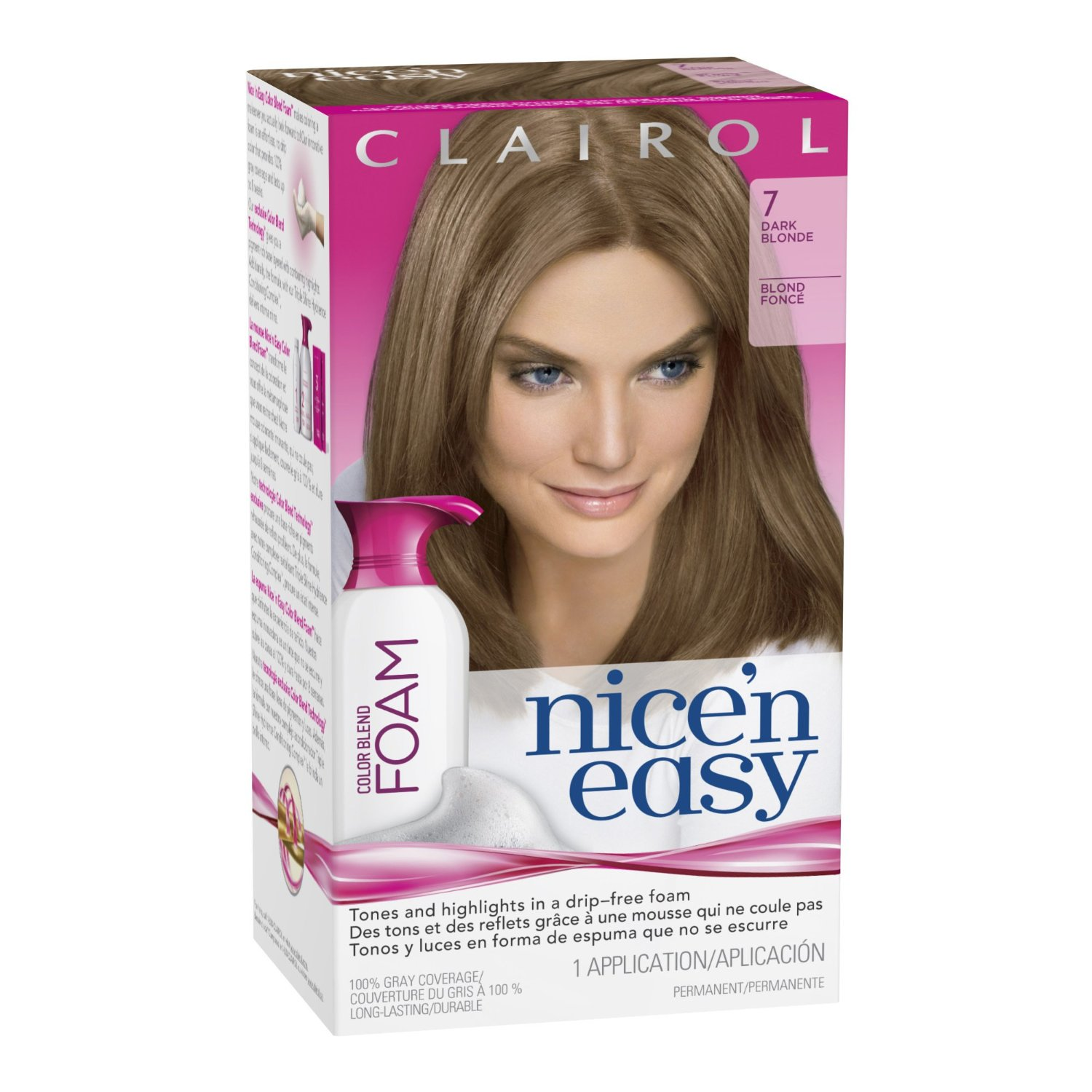 Whos that fashion geek diy ombre hair from blonde firstly i went out and bought myself a brown dye i used clairol nice n easy colour blend foam in dark blonde 7 699 from boots solutioingenieria Choice Image