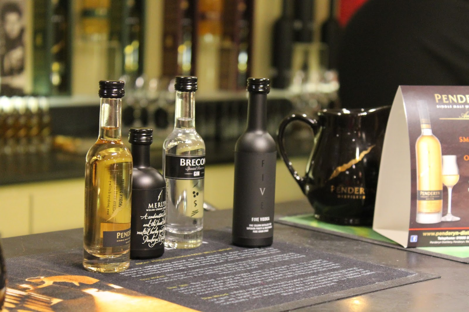 what you get when you go on a tour of penderyn distillery