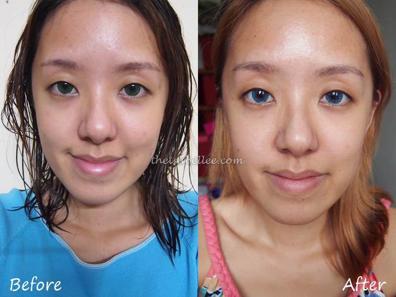 Results from Eumora Facial Bar with HmA