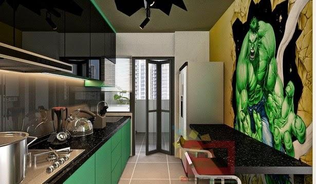 La cocina de Hulk