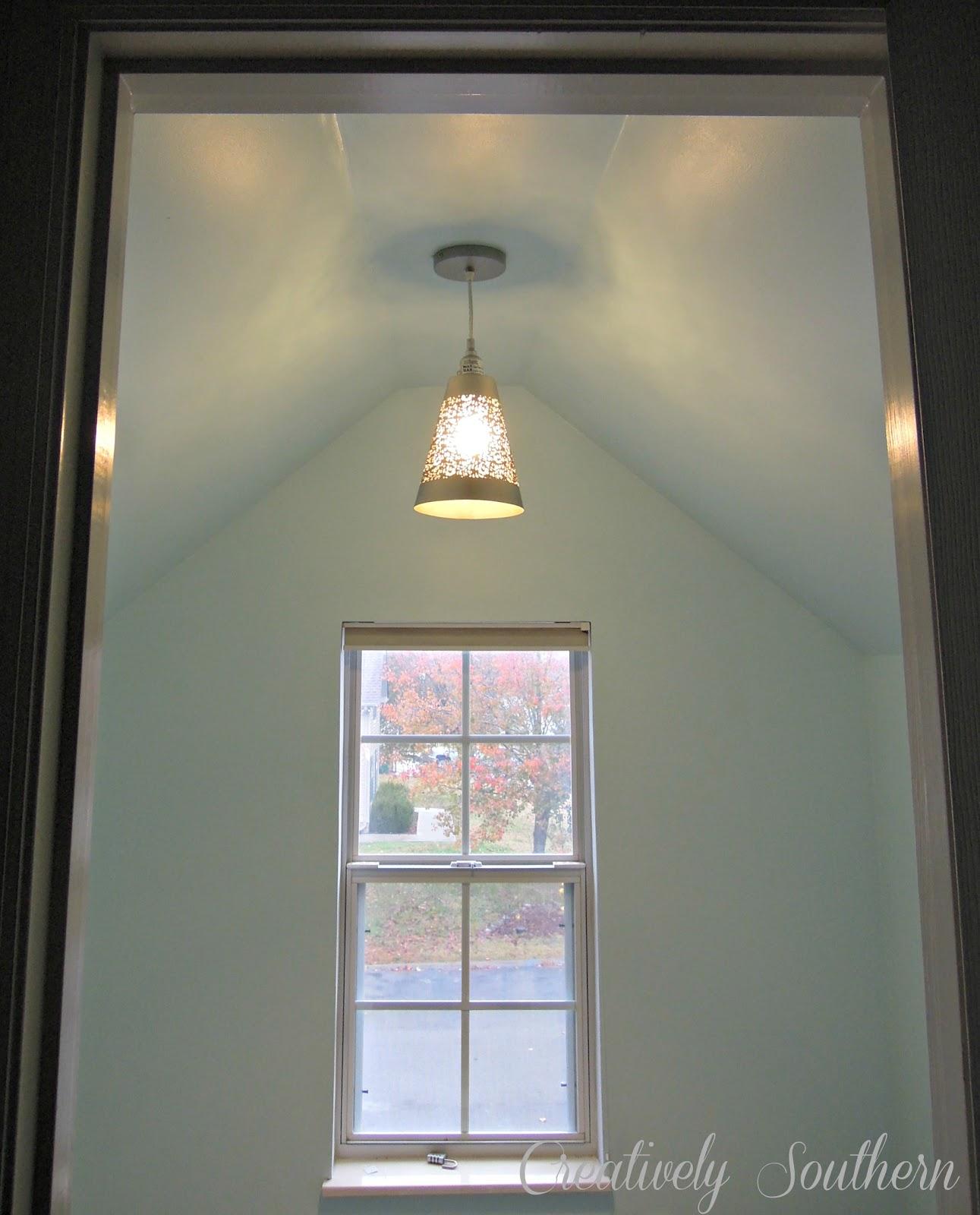 How to hang a pendant light diy pendant light for less than 40 bucks arubaitofo Choice Image