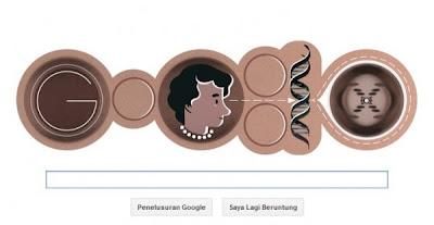 Hari Ini Google Peringati Hari Helahiran Rosalind Franklin ke 93