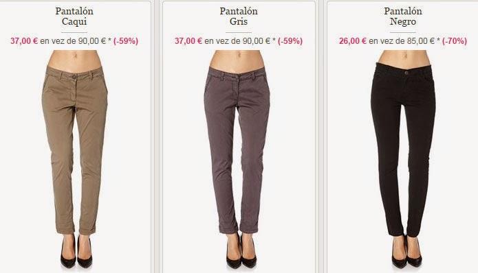 Ejemplos de pantalones de MKT Studio de esta oferta