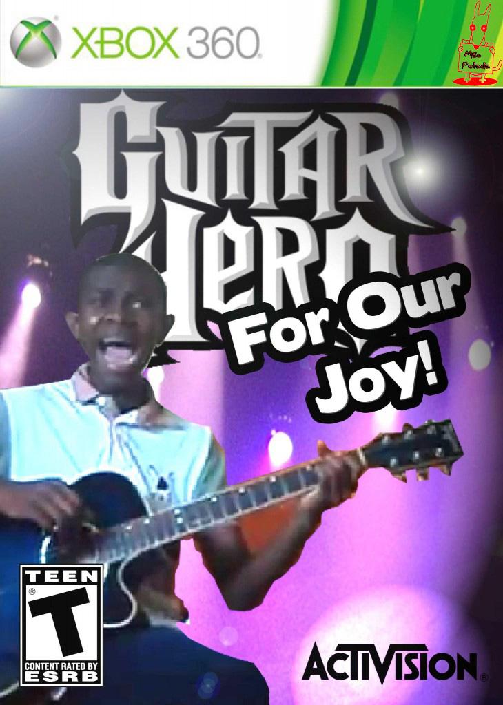 meme Guitar hero com muita alegria