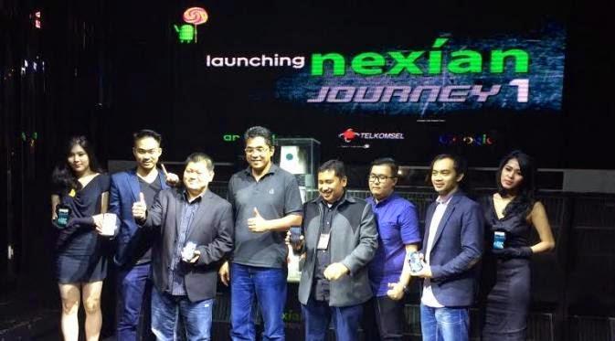 smartphone Android One Nexia Journey sudah tersedia dipasar lokal ...