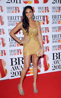 Alesha Dixon at the Brits