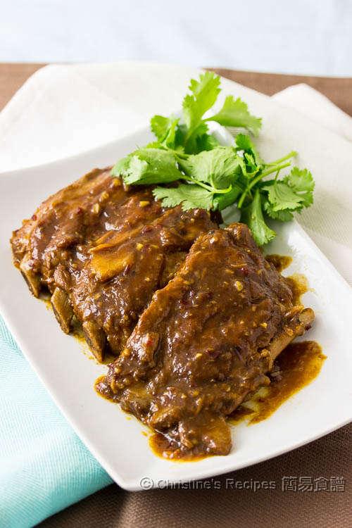 炆 BBQ 排骨 Slow Cooked BBQ Pork Ribs01