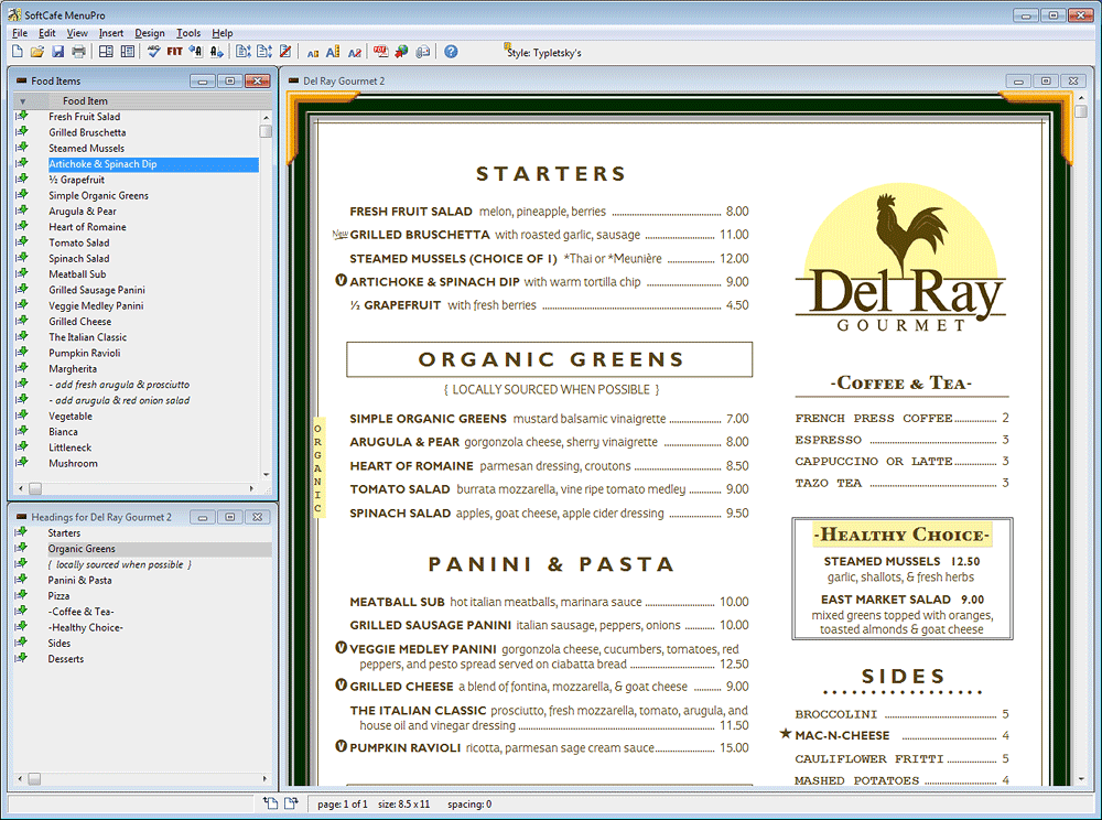 Doc770477 Restaurant Menu Templates Free Download Word Free – Free Restaurant Menu Template Word