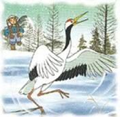 Cerita Dongeng Balas Budi Burung Bangau
