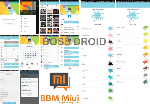 BBM Versi 2.11.0.18  - BBM Mod Tema MIUI 7 Versi Terbaru dan Terbaik untuk Android