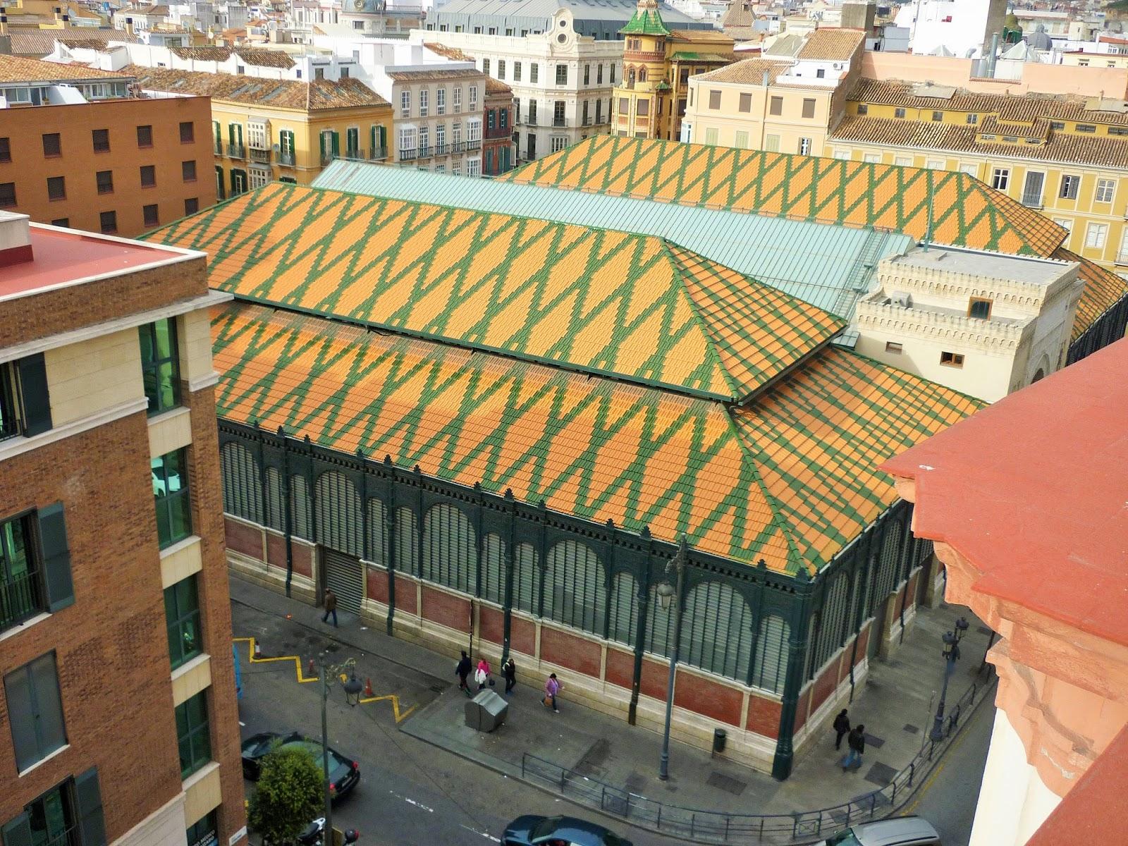 Malaga - Espagne - Marché -  Atarazanas