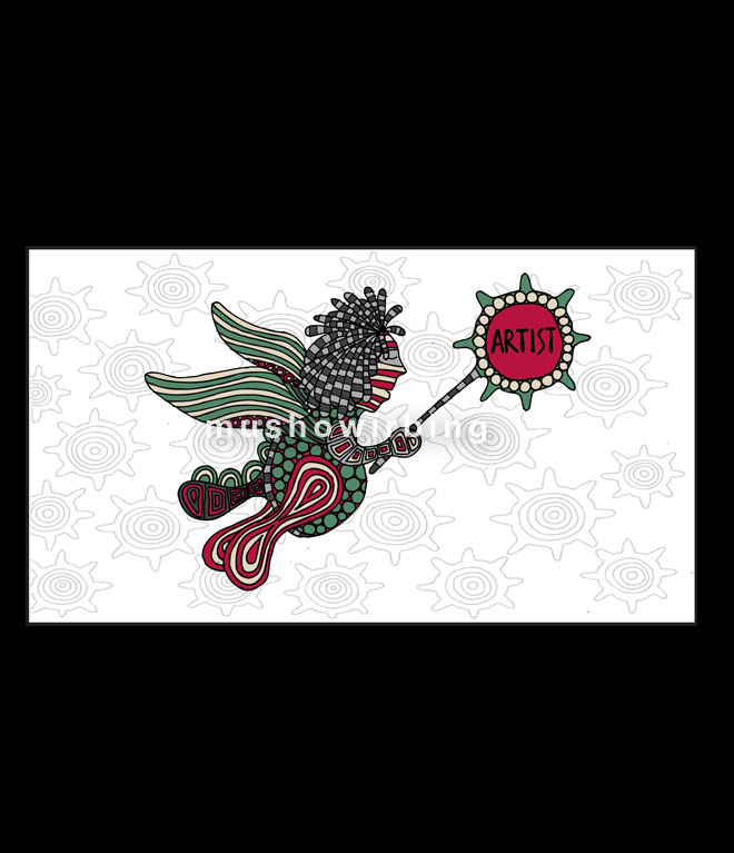 artist terbang (drawing) 2012
