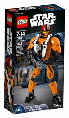 TOYS : JUGUETES - LEGO Star Wars VII 75115 Poe Dameron : Figura | Buildable Figures El Despertar de la Fuerza | The Force Awakens  Producto Oficial 2016 | Disney | Nueva Película Piezas: 102 | Edad: 7-14 años Comprar en Amazon España & buy Amazon USA