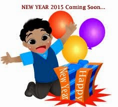 New Year 2015 Coming Soon...