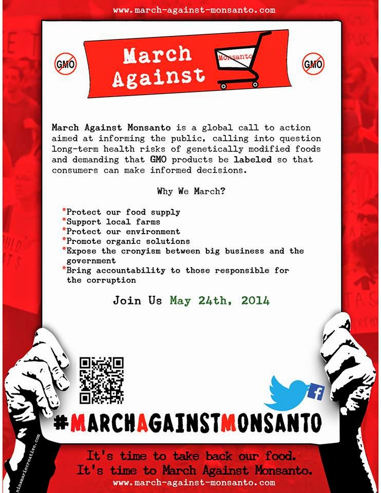 EVENT: Dublin & Cork 24th of March - Global march against Monsanto