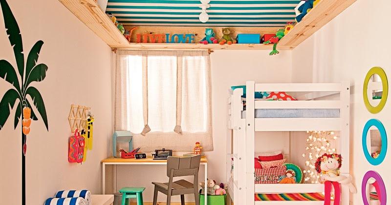 Dormitorio peque o para ni o y ni - Decorar dormitorio nina ...