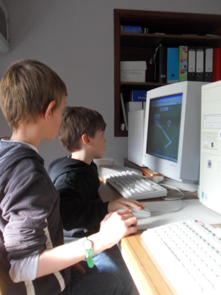 Het klimtouw samen muziek maken op de computer for Plattegrond maken op de computer