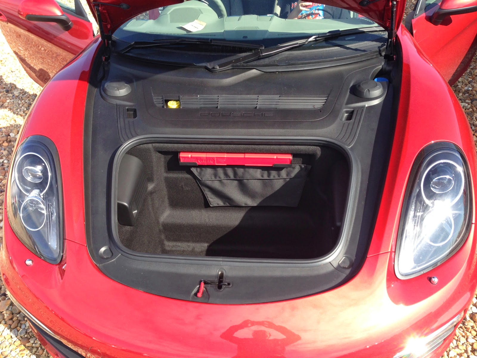 2014 Porsche Boxster S front boot