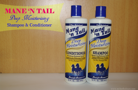 Mane n Tail Deep Moisturizing Shampoo & Conditioner Review
