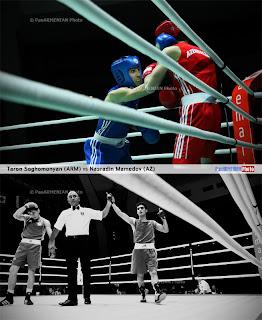 armenian box azerbaijan boxer defeat