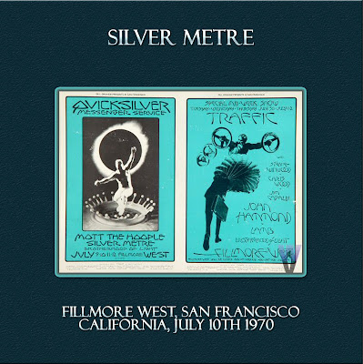 Silver Metre - Fillmore West, San Francisco, California, July 10th 1970 . Wave