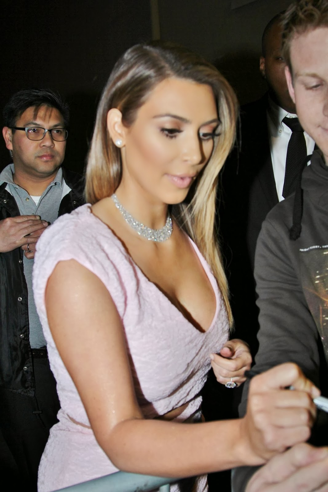 Kim Kardashian cuts Dior dress into two to create top and skirt