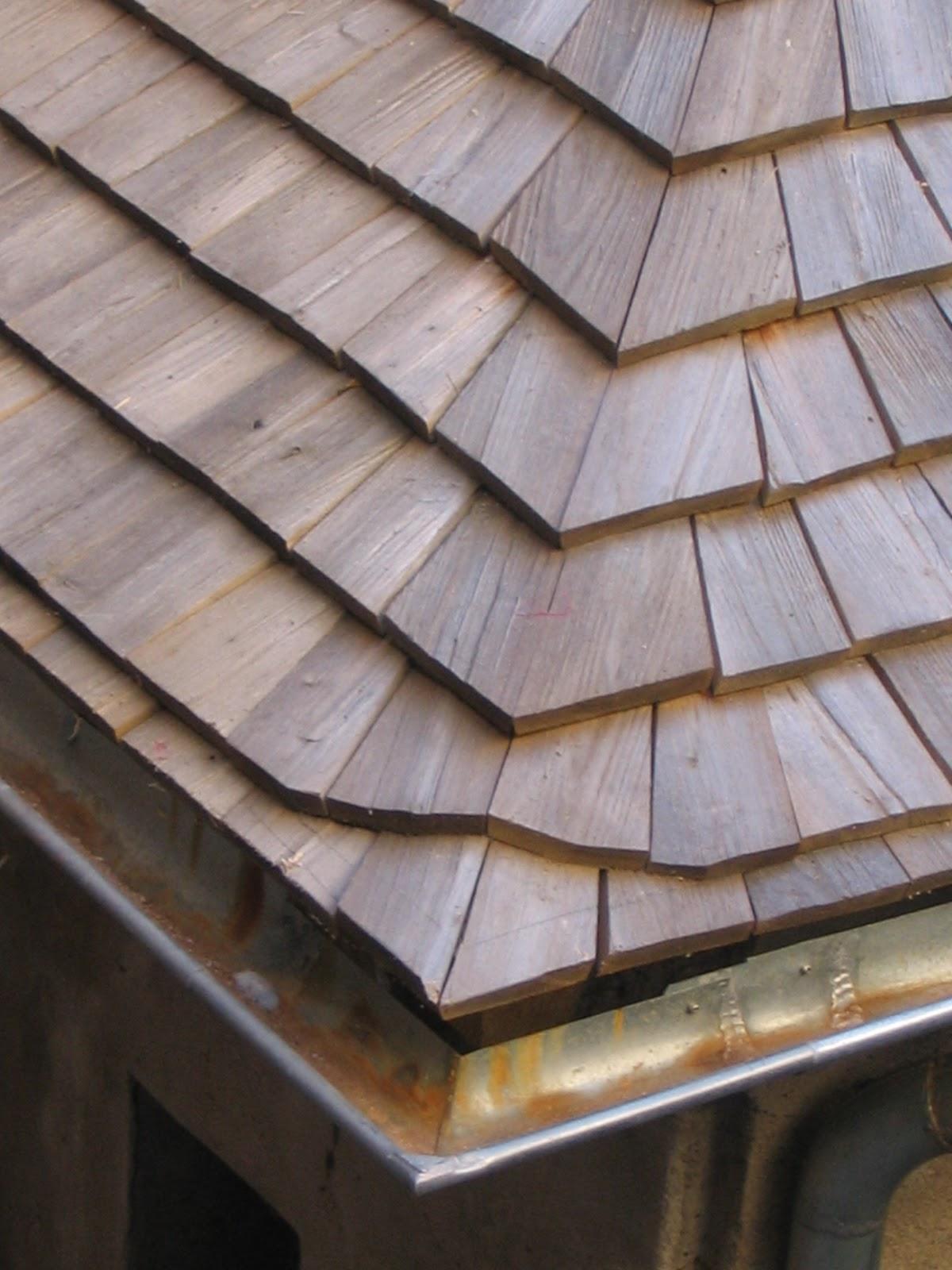 le toit de bois description du bardeau en ch taignier