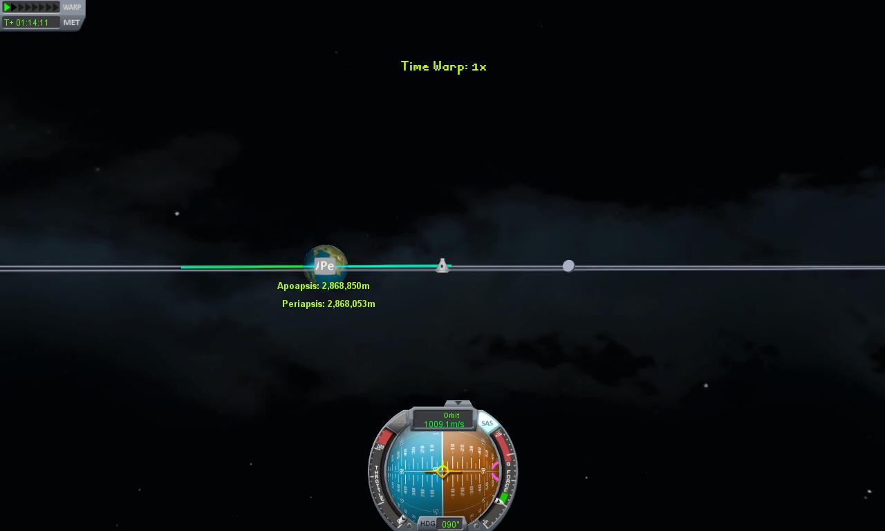 Geosynchronous Orbit Around Kerbin | Kerbal Space Program Blog