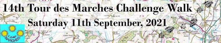 Tour des Marches Challenge Walk (14th edition)