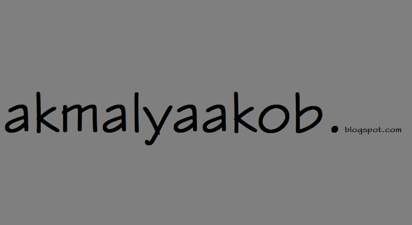 akmalyaakob blog