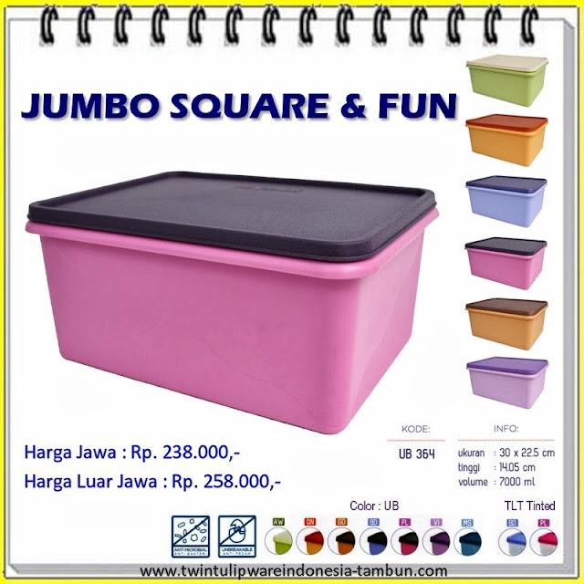 Jumbo Square & Fun Tulipware 2013