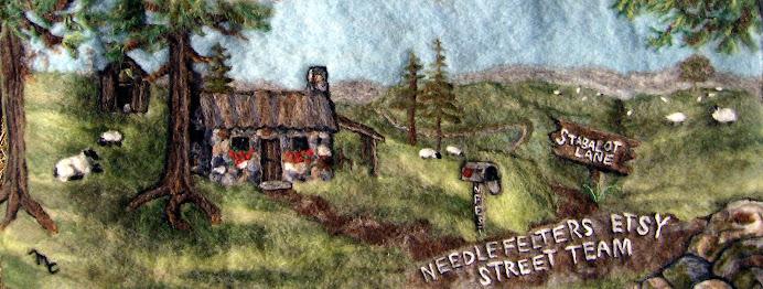 Needle Felt Etsy Street Team