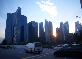 central business district singapore