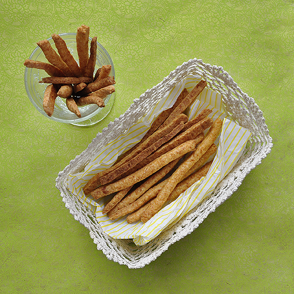 Cheese sticks preparation