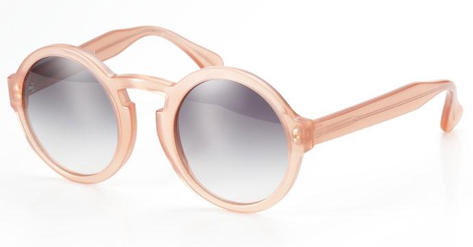 Lunettes Kollektion 2013: La Flaneur sunglasses in clear rouge