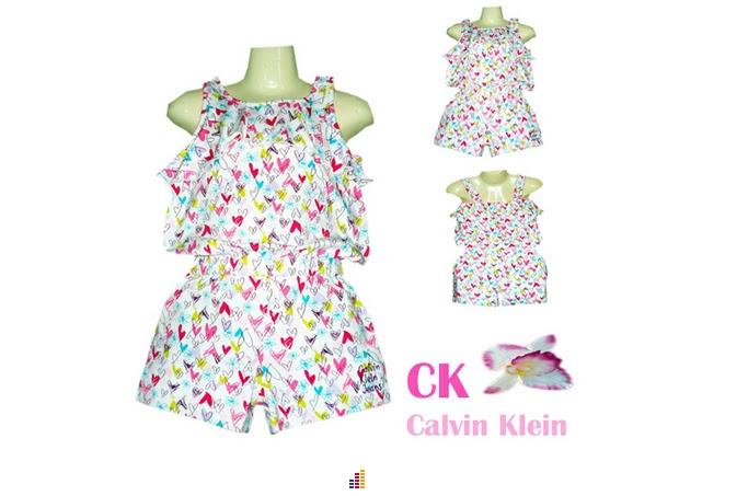 Calvin Klien: Summer girl jumpsuit & 2pc set @25 rm