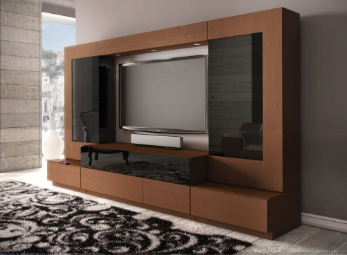 Lcd Tv Showcase Designs - Home Designs