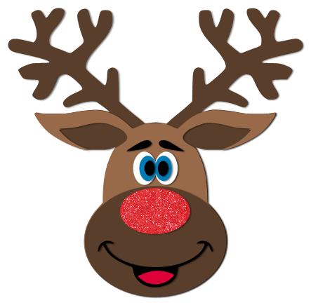 Gutsy image regarding printable reindeer face