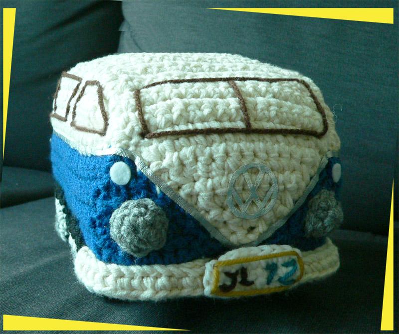 Amigurumi Beetle : Expattern: Amigurumi Crochet Handmade VW Volkswagen Kombi ...